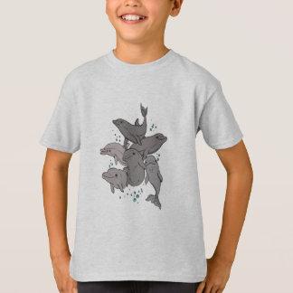 Camiseta Delfínes juguetones