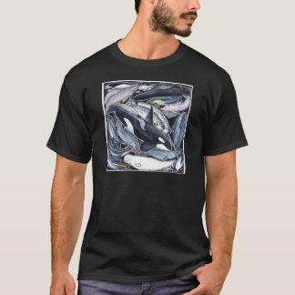 Camiseta Delfines, orcas, belugas y narvales