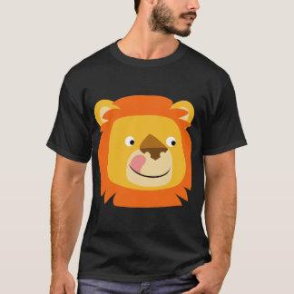 Camiseta deliciosa linda del león del dibujo