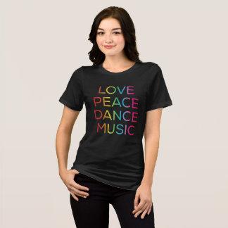 Camiseta Delirio electrónico de la música de danza de la