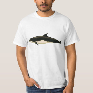 Camiseta Delphinus Tursio, mamíferos marinos de los
