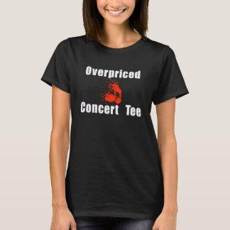Camiseta demasiado cara del concierto