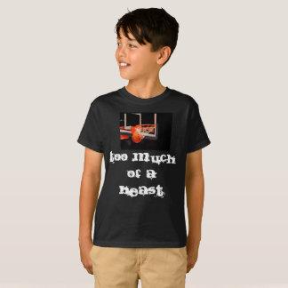 Camiseta Demasiado de una bestia creada por Pearse