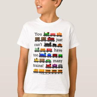 Camiseta Demasiados trenes