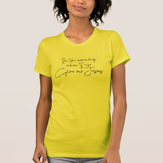 Camiseta Déme la cita de Jesús