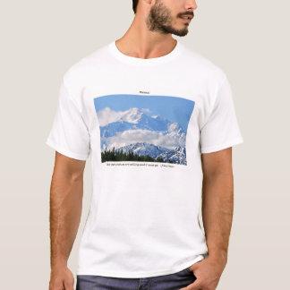 Camiseta Denali/Mtns está llamando-j a Muir/con la frontera