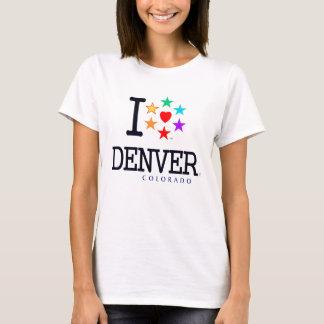 Camiseta Denver, Colorado, montañas rocosas, orgullo, amor