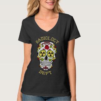 Camiseta Departamento de la radiología