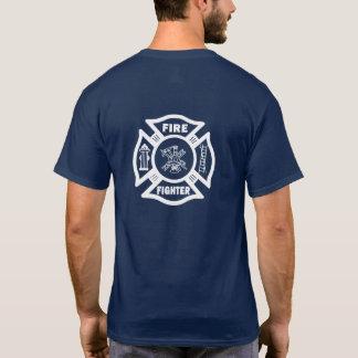 Camiseta Departamento del fuego del bombero maltés