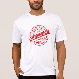 Camiseta Deporte-Tek rápido estupendo calificado SS del
