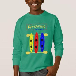 Camiseta Deportes acuáticos Kayaking - gráfico temático
