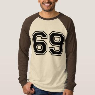 Camiseta deportes número 69