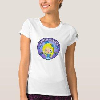 Camiseta deportiva para mujer de Soy Muuy Flamenca