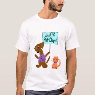Camiseta Depósito del mascota de Judy