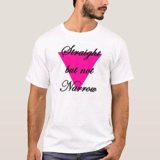 Camiseta derecho pero no estrecho