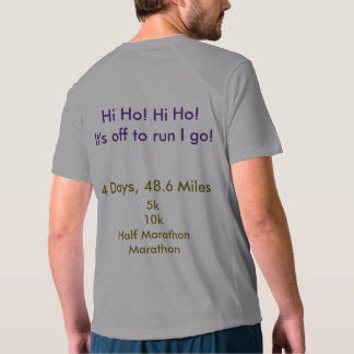 Camiseta Desafío narcotizado en el entrenamiento