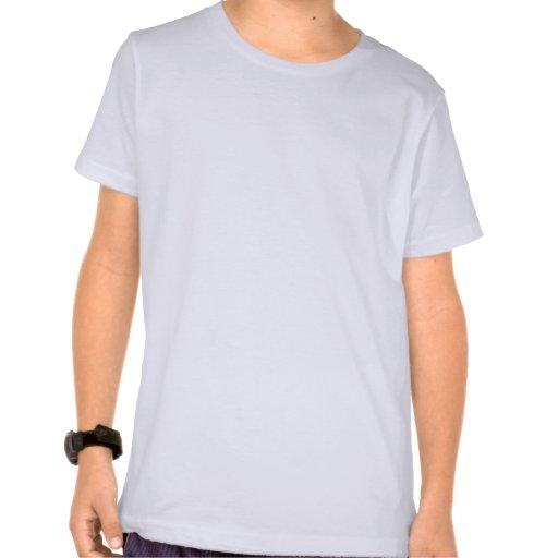 Camiseta desaliñada linda del unicornio (azul)