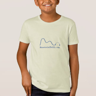Camiseta desapasible de los niños de la montaña