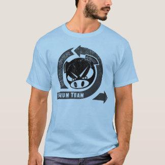 Camiseta Desarrollador del melé - con el lazo y el cerdo
