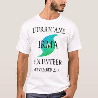 Camiseta Desastre voluntario de Irma la Florida del huracán