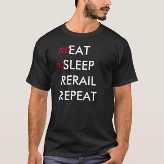 Camiseta descarrilamiento