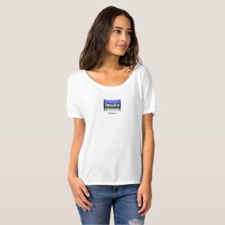 Camiseta desgarbada del novio de las mujeres de