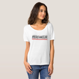 Camiseta desgarbada #ResistanceLive del novio