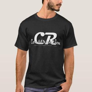 Camiseta Desgaste del logotipo de la construcción del CR