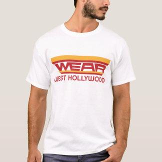 Camiseta DESGASTE Hollywood del oeste