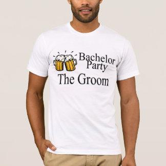 Camiseta Despedida de soltero la cerveza del novio