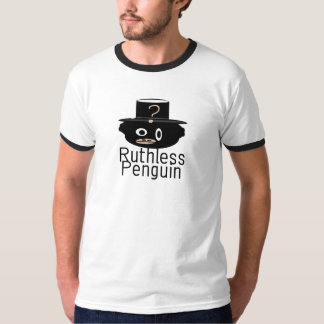 Camiseta despiadada del pingüino