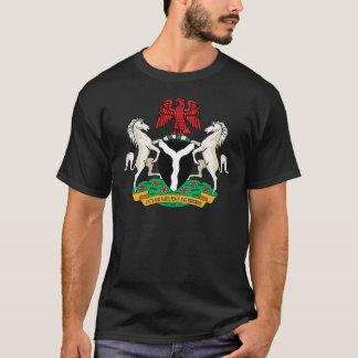Camiseta Detalle del escudo de armas de Nigeria