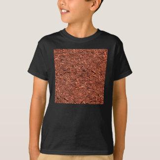 Camiseta detalle la imagen del pajote del cedro rojo para