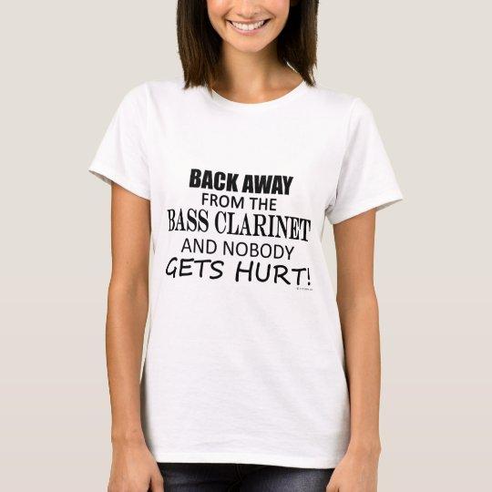Camiseta Detrás lejos del clarinete bajo