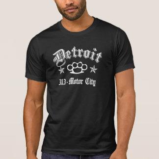 Camiseta Detroit Knuckles la ciudad de 313 motores