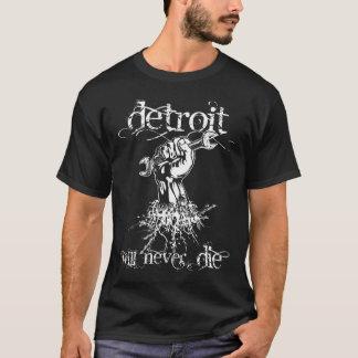 Camiseta Detroit nunca morirá T