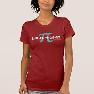 Camiseta Día 2015 del pi: Una vez en un curso de la vida