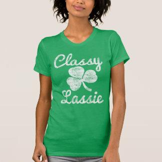 Camiseta Día con clase del St. Patricks del Lassie del