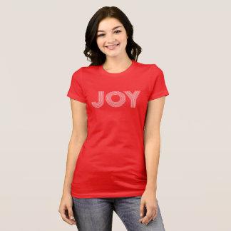 Camiseta Día de fiesta rojo de la ALEGRÍA el |