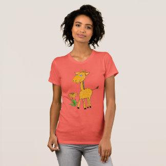 Camiseta día de la diversión de la jirafa