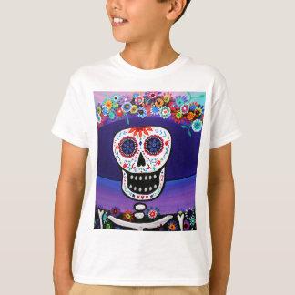Camiseta Dia de los Muertos Catrina por Prisarts
