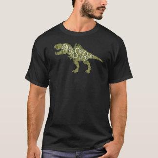 Camiseta Día de padres - dinosaurio verde de Daddysaurus