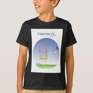 Camiseta Día del lavado del Gridiron, fernandes tony