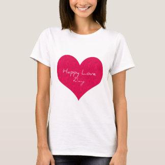 Camiseta Día feliz del amor
