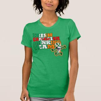 Camiseta Día irlandés del St Patricks del canadiense