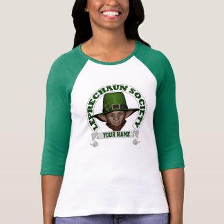 Camiseta día personalizado del St Patricks de la sociedad