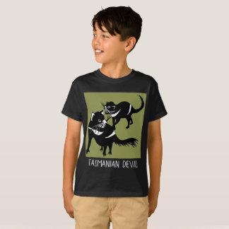 Camiseta Diablo tasmano - en peligro