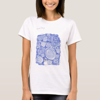 Camiseta Días azules