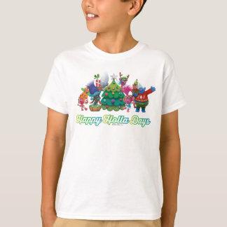 Camiseta Días felices del Holla de los duendes el  