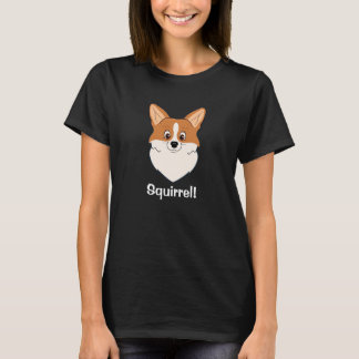 """Camiseta Dibujo animado cautivador """"ardilla """" del Corgi"""